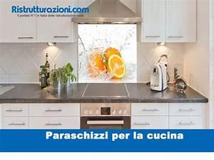 Paraschizzi per la cucina non solo piastrelle