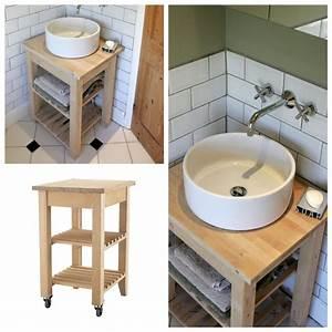 Catalogue Salle De Bains Ikea : une salle de bain ikea hacks ikea hack bathroom kids and hall bathroom ~ Dode.kayakingforconservation.com Idées de Décoration