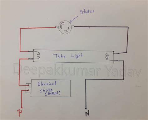 deepakkumar yadav    fluorescent tube light work