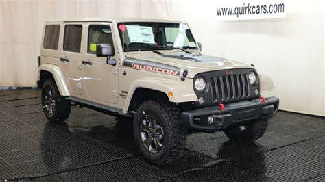New 2017 Jeep Wrangler Unlimited Rubicon Recon Convertible