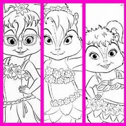 HD wallpapers alvin and brittany coloring pages