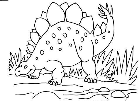stegosaurus coloring page stegosaurus colouring pages coloring pages