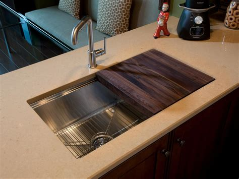 kitchen sink with sliding cutting board hgtv oasis 2011 kitchen pictures hgtv oasis 9588