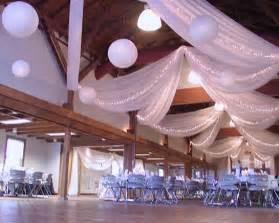 lighting ceiling draping portfolio