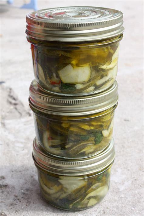 c est au programme cuisine bocaux de courgettes marinées à la menthe chez requia cuisine et confidences