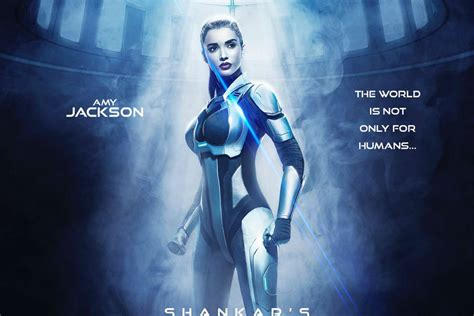 Shankar Unveils Amy Jackson's First Look From Rajinikanth