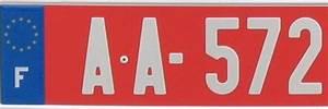 Plaque Immatriculation Voiture : plaque d 39 immatriculation rouge signification obtention ~ Melissatoandfro.com Idées de Décoration