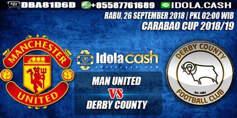 Prediksi Manchester United vs Derby County 26 September 2018