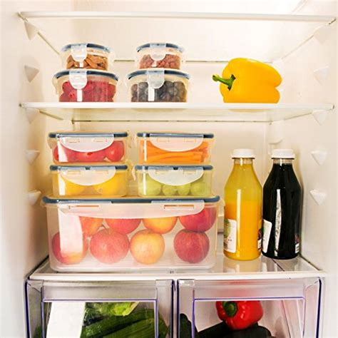 kitchen storage containers shopping food storage containers with lids airtight leak proof 8619