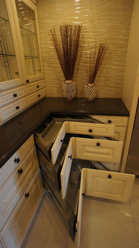 corner unit kitchen cabinet bauformat corner drawers unit cabinet details 5877