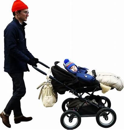 Walking Stroller Skalgubbar Driving Transparent Children Se