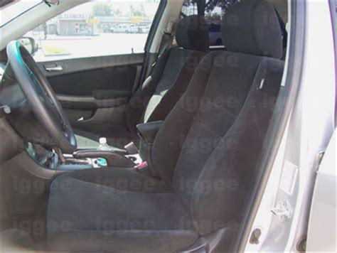 Acura Tsx Seat Covers by Acura Tsx 2004 2008 Leather Like Custom Fit Seat Cover Ebay