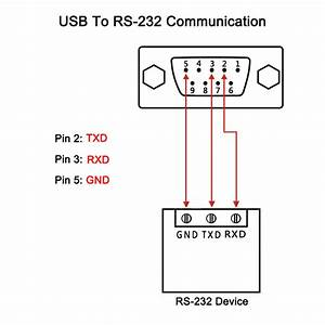 Dtech Db9 Serial Rs232 Female To Usb Adapter Converter