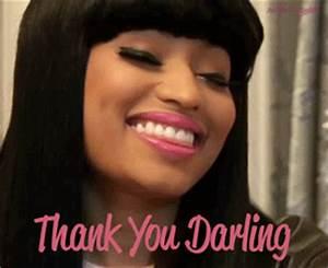 Nicki Minaj Thank You GIF - Find & Share on GIPHY
