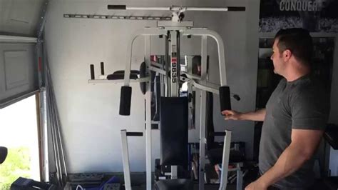 Weider Pro 9635 Complete Home Gym For Sale