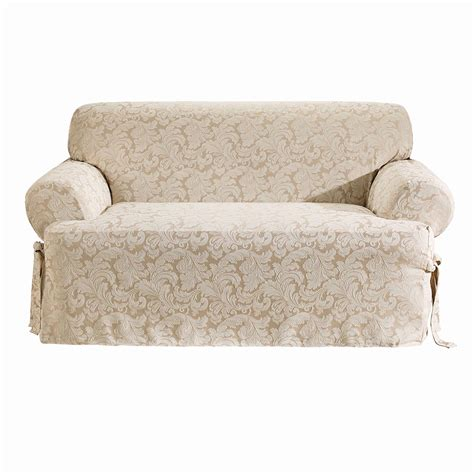 t cushion chair slipcovers sure fit t cushion sofa slipcover home design ideas and