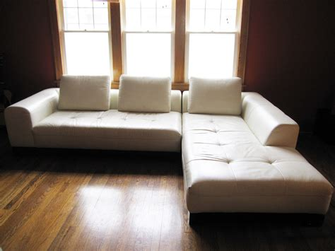 floor l z gallerie z gallerie white leather sectional sofa stowhomeforrent