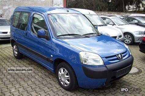 peugeot partner 2005 2005 peugeot partner combi escapade hdi 90 car photo and
