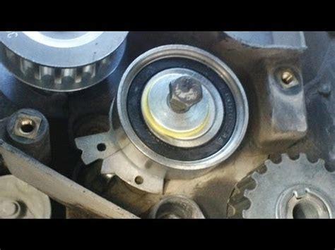 como reparar la rosca de la bomba de aceite de la polea tensora de un chevy