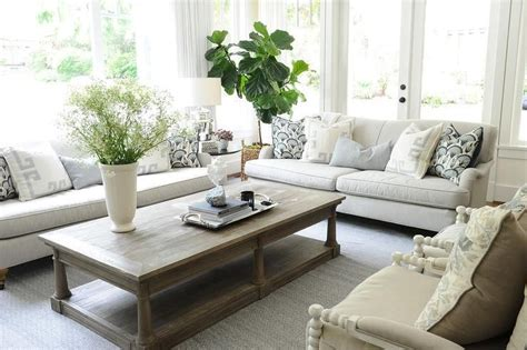 Restoration Hardware Living Room Pillows by Chic Living Room Features A Pair Of Light Gray Roll Arm
