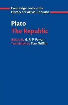 Plato The Republic  Plato 9780521484435