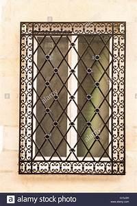 Grille Metal Decorative : decorative window grill stock photo 104000809 alamy ~ Melissatoandfro.com Idées de Décoration