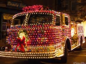 Christmas Lights On Fire Trucks