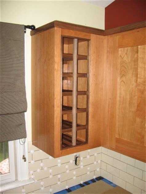 kitchen wine rack cabinet happykitchens charlottesville area kitchen remodeling in 6485