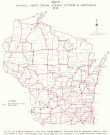 Map of Wisconsin Highway System