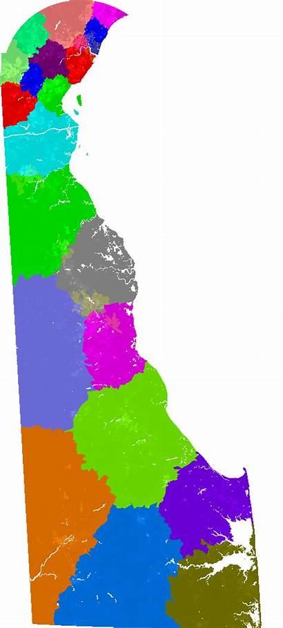 Senate Delaware Map District Congressional Way Current