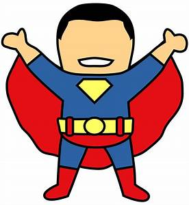 Superman Clipart Graphic Pencil And In Color Superman