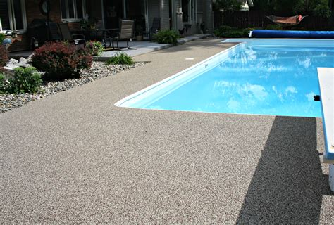 pool deck patio applications american recycling center