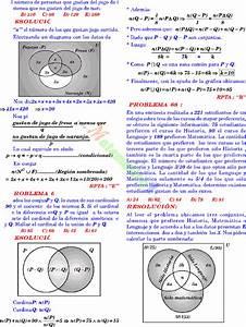 Diagramas De Venn Euler Ejercicios Resueltos