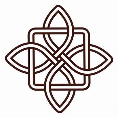 Celtic Knot Ancient Trazo Nudo Transparent Celta