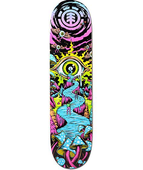 element trippin 7 75 quot skateboard deck zumiez