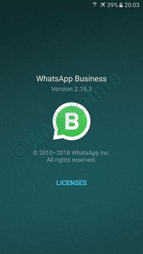 whatsapp business beta for android updated from 0 0 120 to
