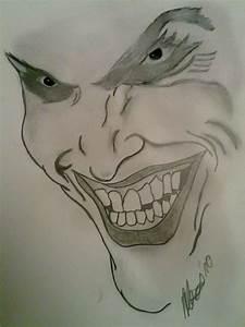 Kunst Zeichnungen Bleistift : joker 2 bild kunst von batman bei kunstnet ~ Yasmunasinghe.com Haus und Dekorationen