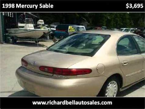 Used Cars New Richey Fl by 1998 Mercury Used Cars Deland Fl