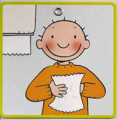 toilet schoonmaken stappenplan stappenplan handen wassen thema ik kan het al alleen