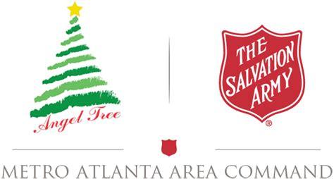 salvation army angel tree logo tree metro atlanta area command