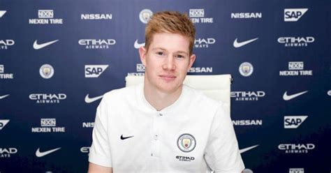 Man City star Kevin De Bruyne pens new contract at the ...