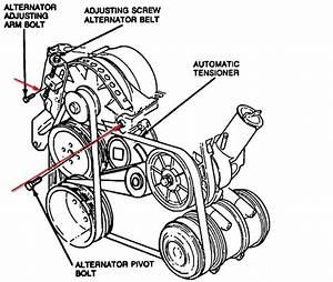 Ford Tempo Alternator Wiring Diagram