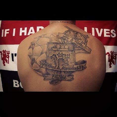 mufc tattoos images  pinterest man united