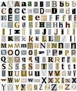 Alphabet letters from magazine free stock photo public for Alphabet photo letters