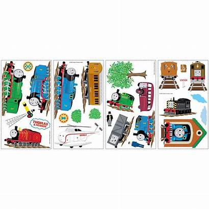 Thomas Friends Wall Stickers Decals Train Roommates
