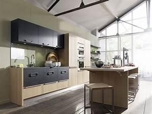 Meuble de cuisine nos modeles de cuisine preferes cote for Petite cuisine équipée avec meuble salle a manger chene massif