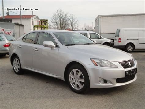 accident recorder 2010 lexus is auto manual 2010 lexus is 220 atm 82000km leather car photo and specs