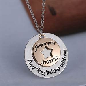 fashion inspiration love letters pendant friends family With love letter jewelry