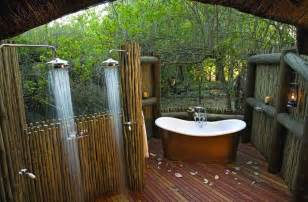 rustic outdoor bathroom design with stunning japanese outdoor shower fixtures and laminate