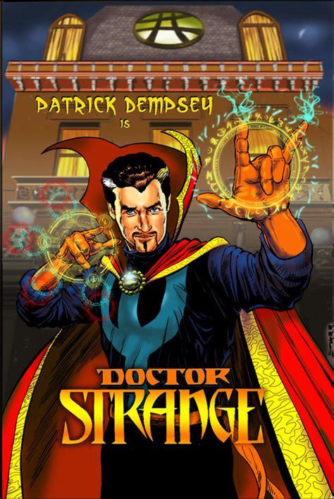dottor strange il mago supremo dempsey si autocandida per il ruolo dottor